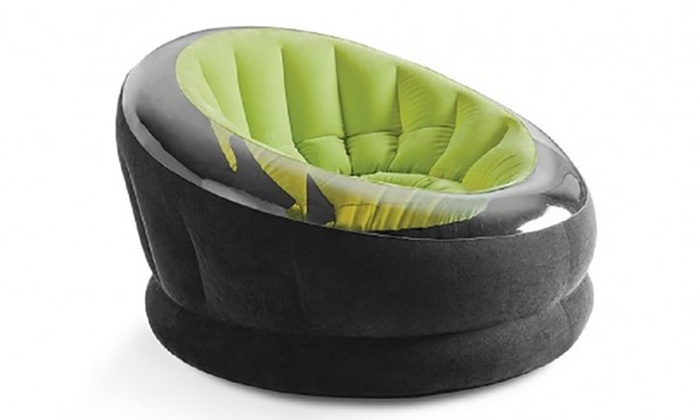 Intex Aufblasbarer Sessel Groupon Goods