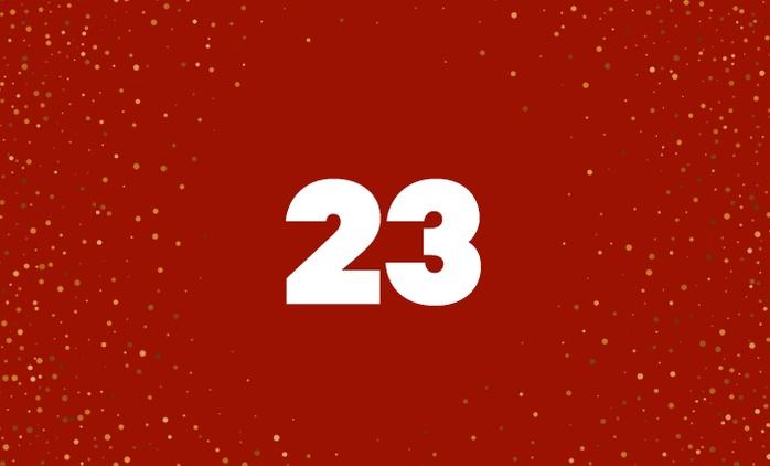 Advent(ure) Calendar: Day 23