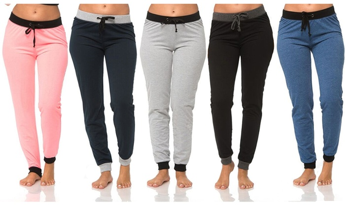 Coco Limon Women's Jogger Pants (5-Pack)