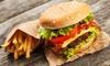 Formule burger, frites et boisson