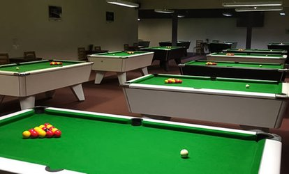 Two Hours of Snooker or Pool with Annual Membership and Hot Drink for Two at The Towers (Up to 47% Off)