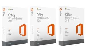 Microsoft Office 2016 pour Windows
