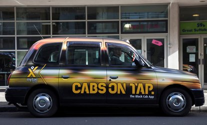image for £5 for £20 Credit Toward Taxi Ride with mytaxi (75% Off)