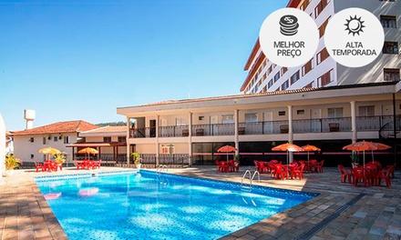 Águas de Lindoia/SP: até 7 noites para 2 pessoas no Hotel São Luiz.