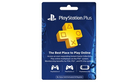 1-Year PlayStation Plus Membership