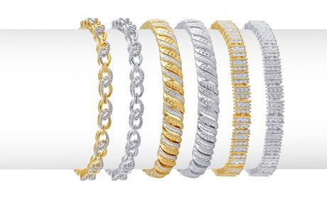 Diamond Accent Bracelets