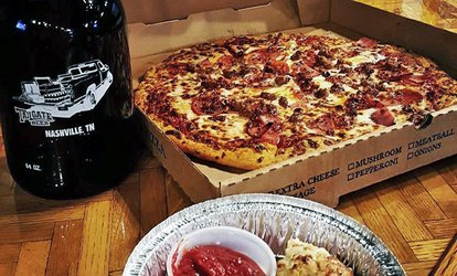 <strong>Pizza</strong> and Beer at Tailgate Beer (48% Off)