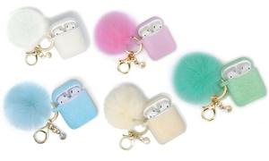 AirPod Glitter Case with Keychain Set (2-Piece)