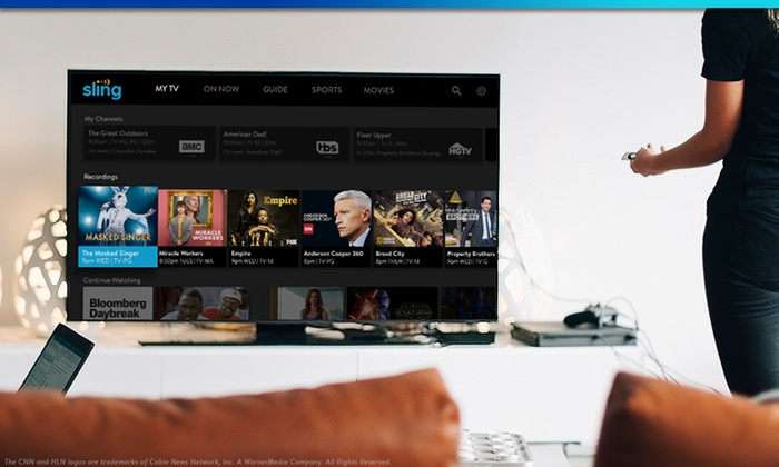 Free 14-Day Trial to Sling TV - Sling   Groupon