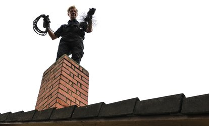 image for <strong>Cleaning</strong> and Inspection for One or Two <strong>Chimneys</strong> from <strong>Chimney</strong> Pro Cleaners (Up to 69% Off)