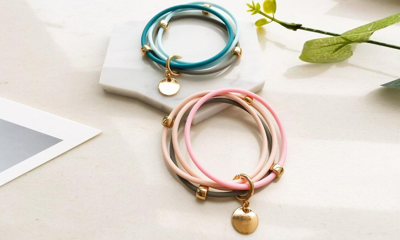 One, Two or Three Mosquito-Repellent Bracelets