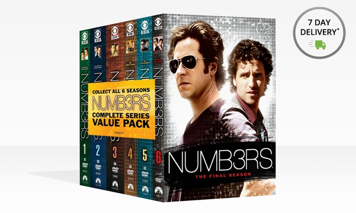 Numb3rs Complete Series DVD Box Set: Numb3rs Complete Series DVD Box Set. Free Returns.
