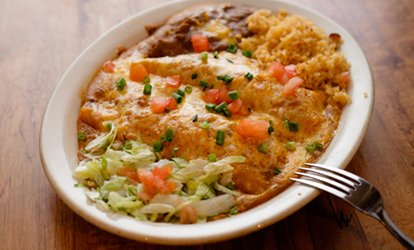 image for Northern New <strong>Mexican</strong> Food and Drinks at La Fonda De Los Lobos (40% Off)