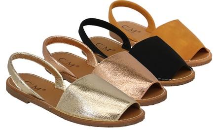 Menorcan Slip-On Sandals