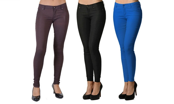 Women's Stretch Skinny Pants | Groupon