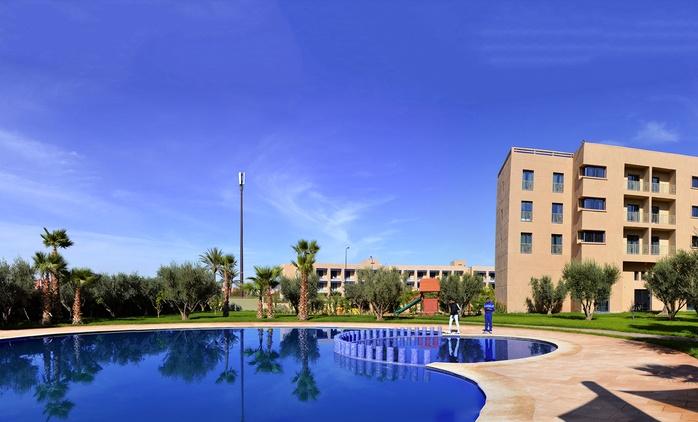 Marrakech: 1 à 9 ou 14 nuit(s) en studio ou appartement, accès piscine et modelage en option à Wazo Appart l'hôtel