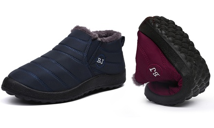 Chaussures d'hiver imperméables pour homme et femme