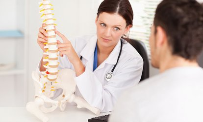 image for Chiropractic: One or Two Treatments with Assessment at Core Physiatry (Up to 84% Off)
