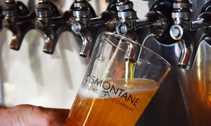 48% Off Beer Tasting at Cismontane Brewing Co.  at Cismontane Brewing Co., plus 6.0% Cash Back from Ebates.