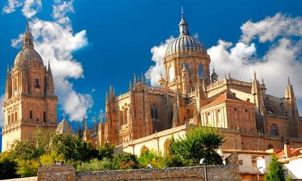 Salamanca: estancia con vistas para 2, desayuno, botella de vino, gimnasio y zona de bienestar en Hotel Abba Fonseca 4*