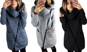 (Mode)  Veste zippée avec col  -55% réduction
