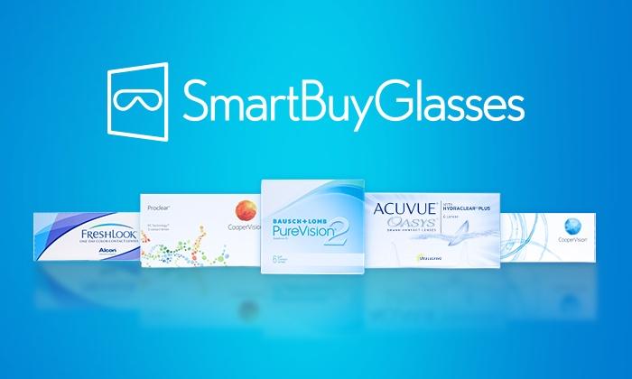 Smartbuyglasses KEY BE: Bon d'achat pour lentilles de contact à 30 € ou 40 € chez SmartBuyGlasses