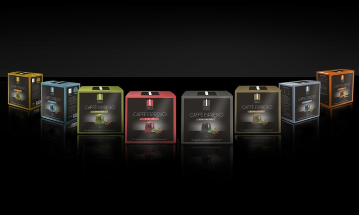 Groupon Goods: Nespresso Compatible Caffè Ottavo Capsules (Shipping Included)