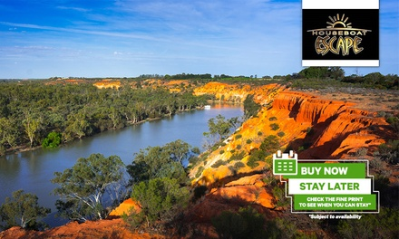 Murray River, Renmark: Five- or Seven-Night Houseboat Stay for Up to Eight People at Houseboat Escape