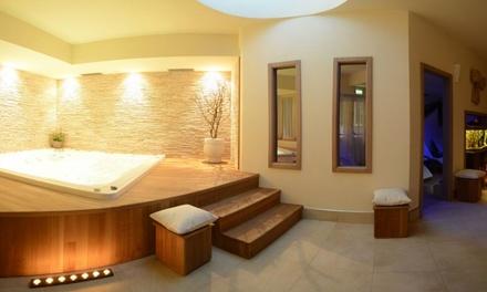 Ingresso Spa con sauna e idromassaggio per una persona, infrasettimanale o weekend, alla Spa Hotel Vittoria