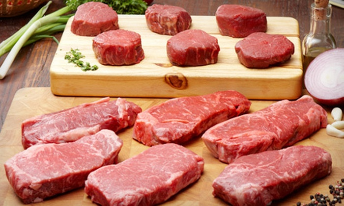 All-Natural, Pasture-Fed Steak Bundles: Standard, Premium, or Deluxe All-Natural Steak Bundle (Up to 55% Off). Free Shipping.