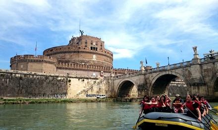 Coupon Tour & Giri Turistici Groupon.it Discesa soft rafting sul Tevere per una, 2, 4 o 6 persone con Roma Acqua Avventura
