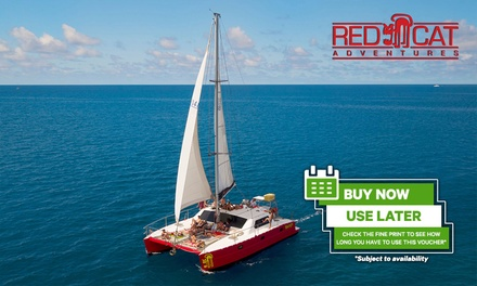 Whitsundays: Package of Three Day Tours for One Person with Red Cat Adventures