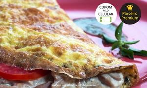 Havaianos Market & Delivery: Havaianos Market & Delivery - Campo Belo: tapioca ( doce ou salgada ) ou omeletes +  suco