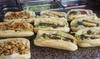 Grilled-Sandwich-Menü inkl. Drink
