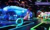 3D-Minigolf auf 18 Bahnen