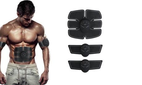 Elettrostimolatore Mobile-Gym per addominali e 2 elettrostimolatori per braccia