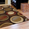 Elegant Transitional 5'x7' Area Rugs