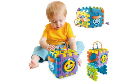 Five-in-One Activity Play Cube