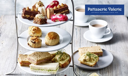 groupon.co.uk - Standard or Festive Afternoon Tea for Two at Patisserie Valerie, Various Locations (24% Off*)