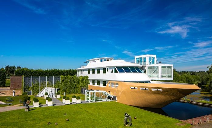 Niederlande: 1-3 Nächte für Zwei mit Frühstück und Zugang zum Wellness-Boot im 4* Hotel Fitland Mill