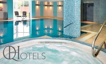 Spa Access with Towel hire, Danish Pastry and Drink for two at 4* The Cheltenham Chase Hotel (56% Off)