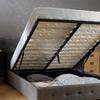 Fabric Ottoman Storage Bed