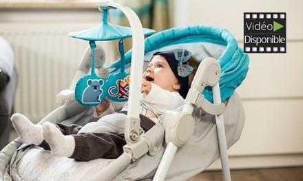 Transat pour bébé 5 en 1 Unimo Kinderkraft, disponible en 2 couleurs