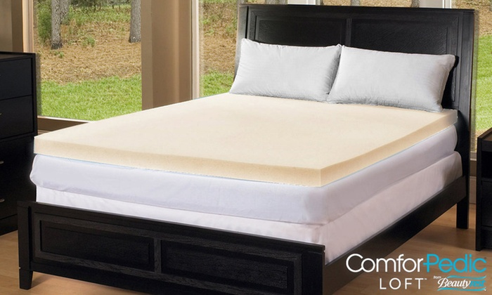 Up To 74 Off On Comforpedic 3 Quot Mattress Topper Groupon