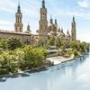 Zaragoza: habitación doble 4* con desayuno