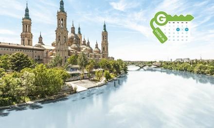 Zaragoza: estancia en habitación doble con desayuno para dos personas en el Hotel Europa 4*