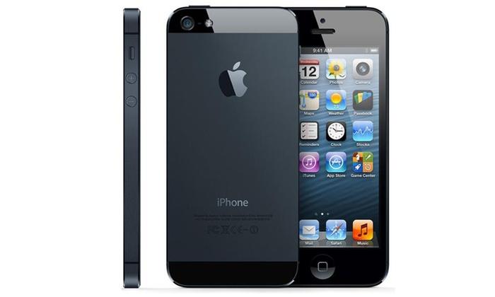 apple iphone 5 5c et 5s groupon. Black Bedroom Furniture Sets. Home Design Ideas