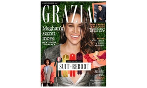 Great Magazines: Six- or 12-Month Grazia Magazine Subscription from Great Magazines (Up to 29% Off)