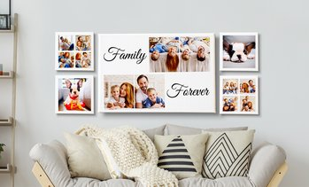 Up to 95% Off Custom Collages on Canvas from Printerpix