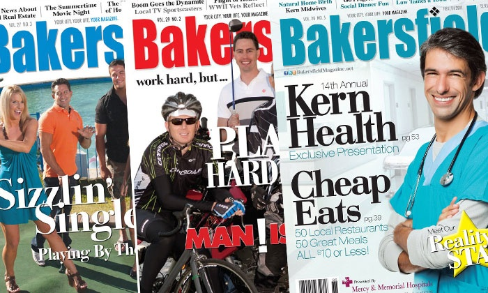 """Bakersfield Magazine: One-or Two-Year Subscription to """"Bakersfield Magazine"""" (Up to 46% Off)"""
